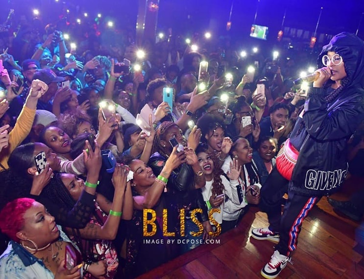 Hip Hop performance at Bliss Washington DC