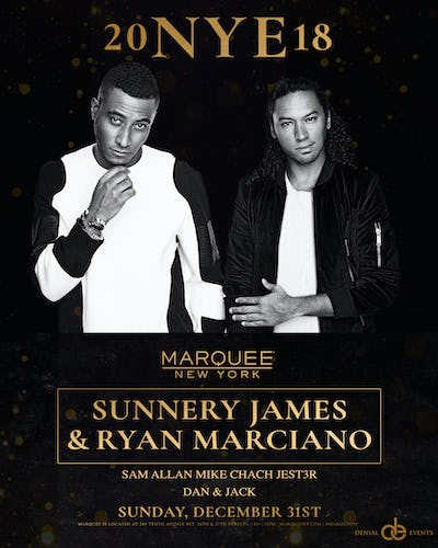 Buy Tickets and Tables to 2018 NYE at Marquee NYC at Marquee NYC