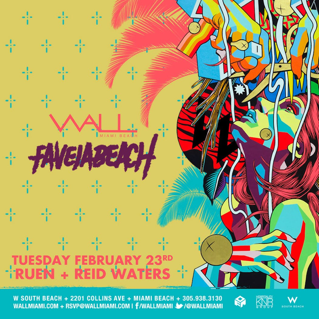 Buy Tickets and Tables to Favela Beach w/ Reid Waters + Ruen at Wall ...