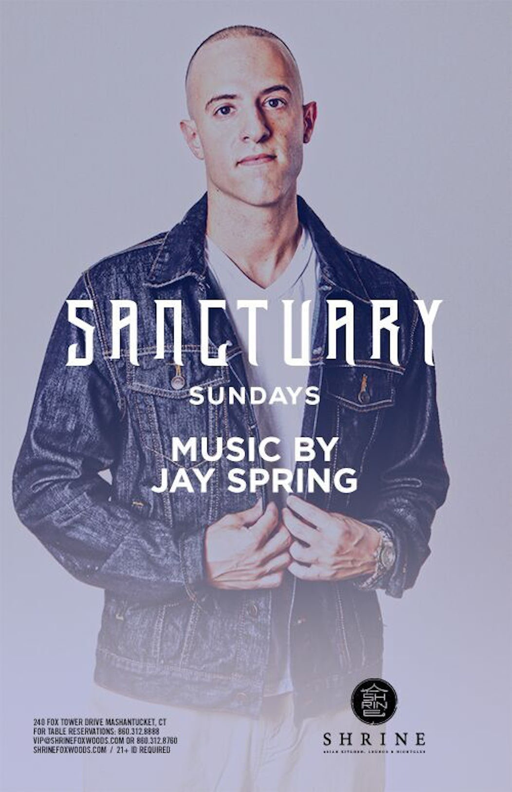 dbfb19c1dba25 Buy Tickets and Tables to Sanctuary Sundays feat. Jay Spring at Shrine